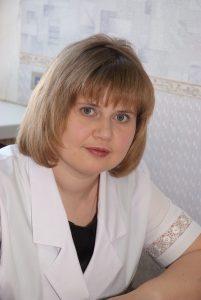 Главный специалист пульмонолог Минздрава Ульяновской области Ирина Галушина
