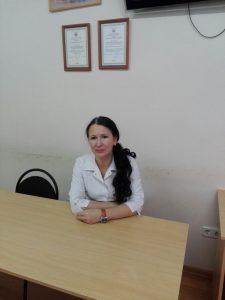 Заведующая женской консультацией государственного учреждения здравоохранения Городская больница №3 Нестеренко Оксана Вячеславовна