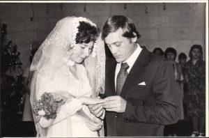 27.12.1980 День бракосочетания Ирины Владимировны и Юрия Алексеевича